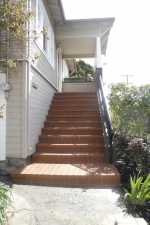 entry stair replacement alameda ca