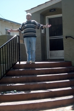 concrete stair replace piedmont ca