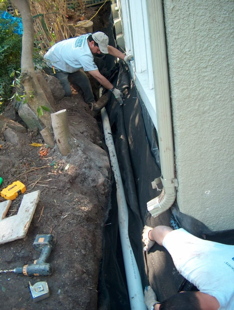 drainage systems contractor oakland