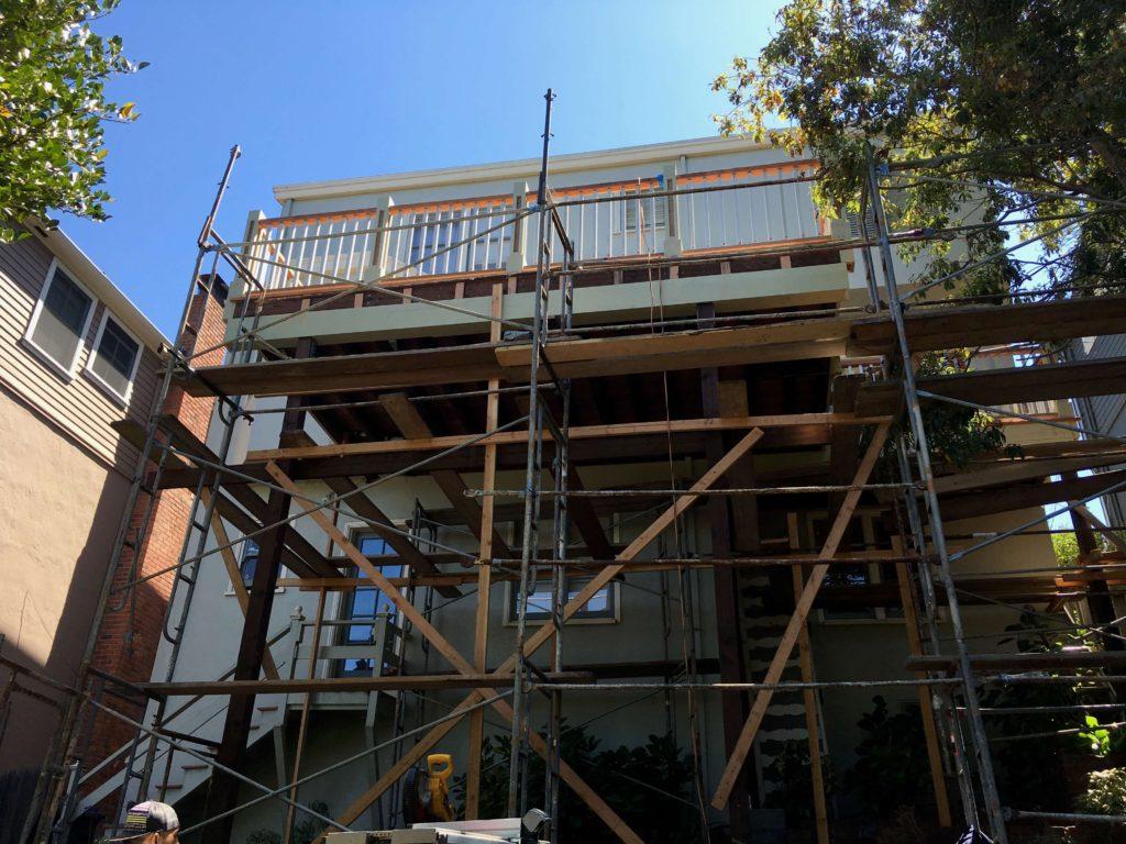 porch rebuild berkeley ca