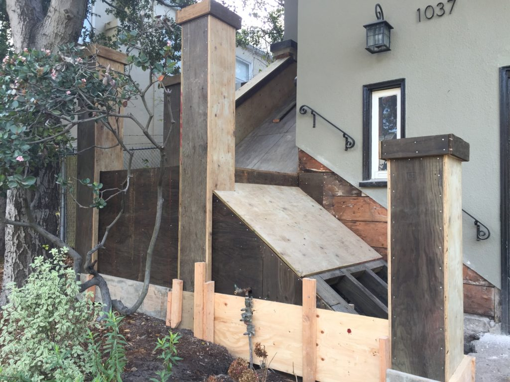 Stair Reconstruction contractor