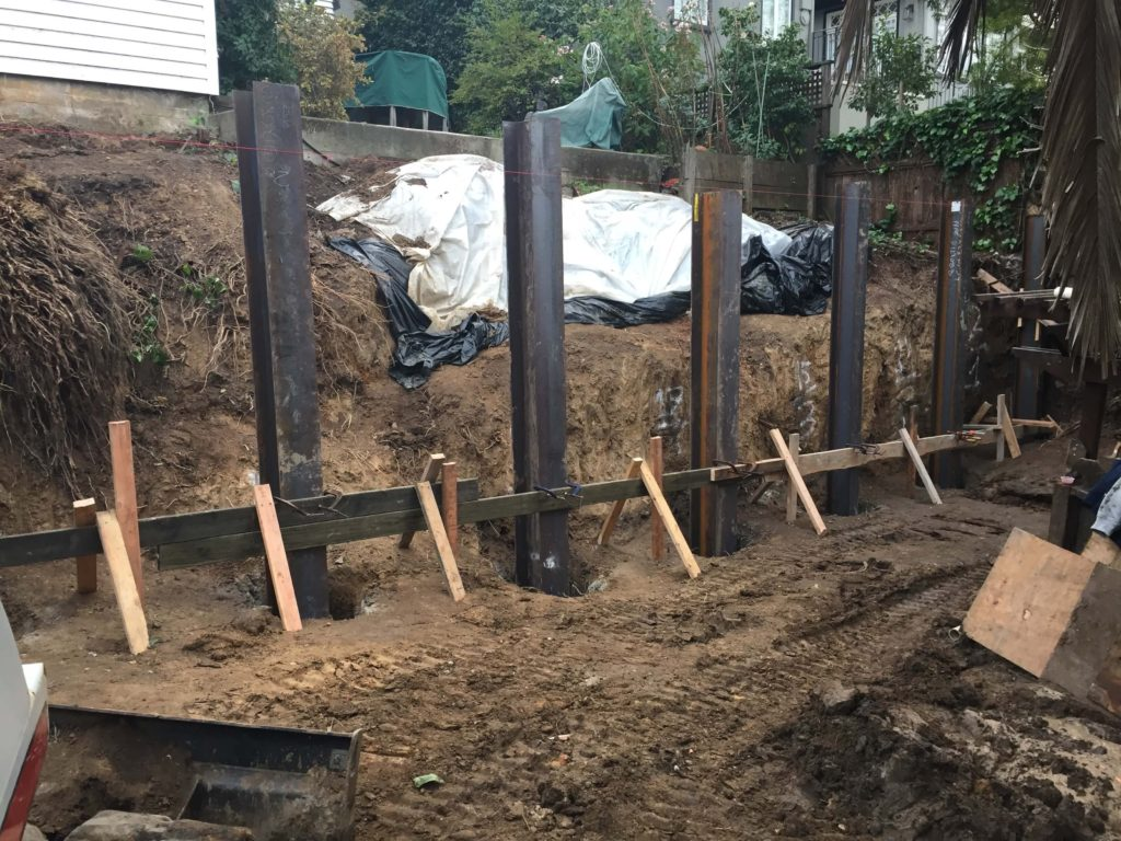 retaining wall construction company northern CA