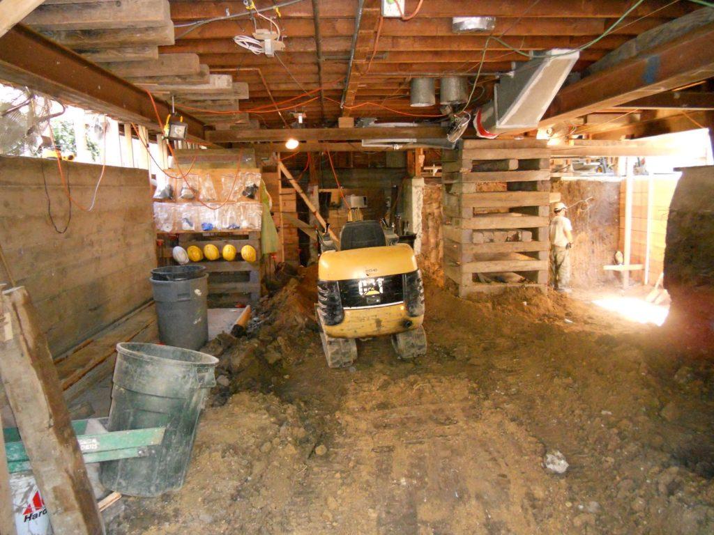 basement digout oakland ca