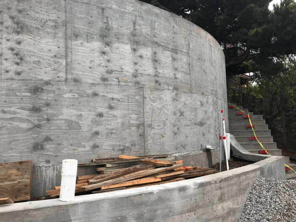 california retaining walls