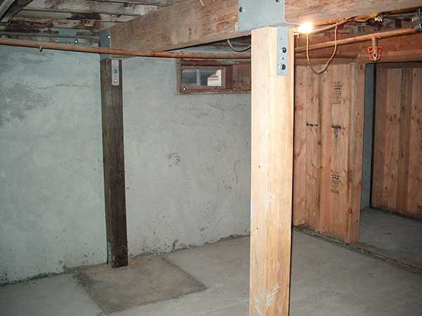 Beefing Up the Basement Structure