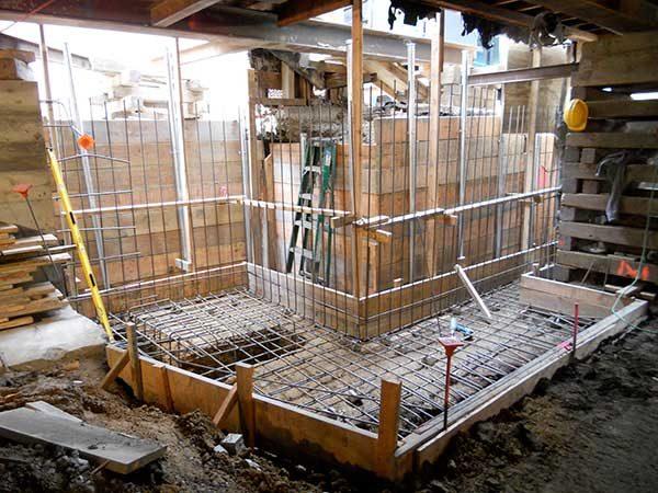 Foundation Retaining Walls