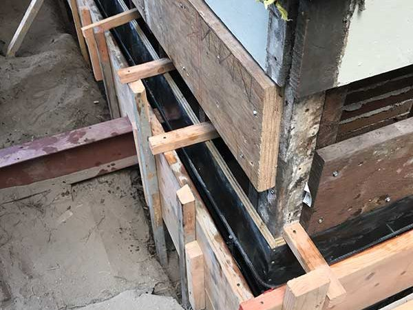 Replacement of Brick Foundations